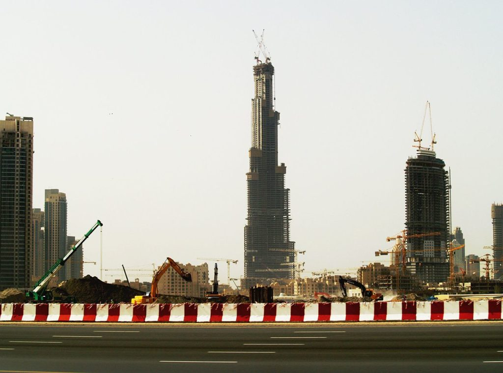 небоскреб Дубай