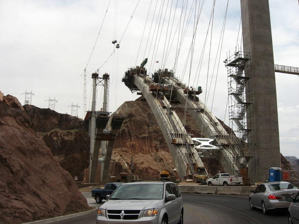 монолитные арки моста