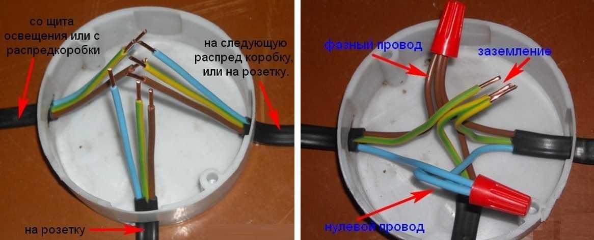 Как провести проводку на даче и соединить провода