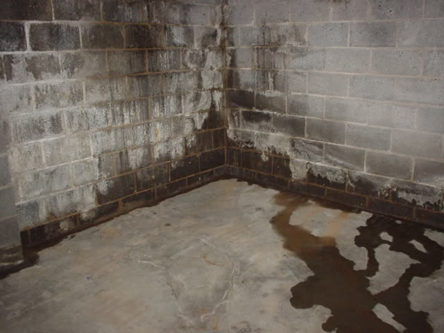 вода в подвале