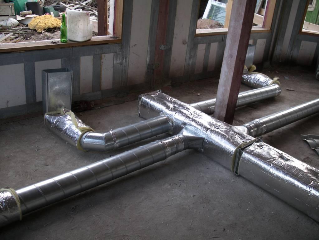 короба для воздушного отопления