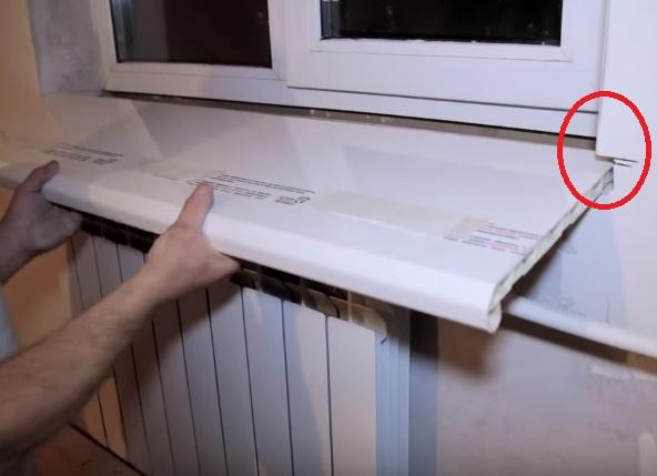 ниши в стене для подоконника