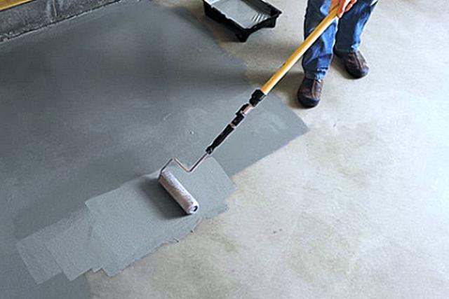 для бетонного пола