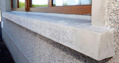 Что нужно для отлива бетонного подоконника